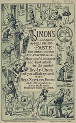 Advert for Simon's Cleaning & Polishing Paste